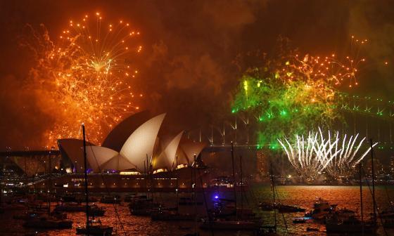 Un gran espectáculo en Sídney lanzará las festividades del Año Nuevo en el mundo