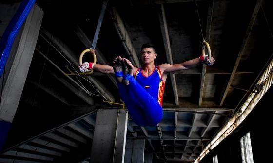 Daniel Marriaga, la nueva joya de la gimnasia