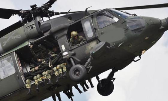 10 muertos deja accidente de helicóptero del Ejército en Antioquia