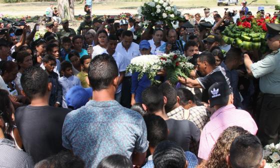 Padre de policía samario muerto en atentado en San José perdonó a asesinos