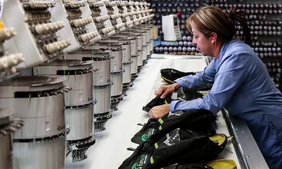 Disminuye la producción de la industria manufacturera en 0,6%