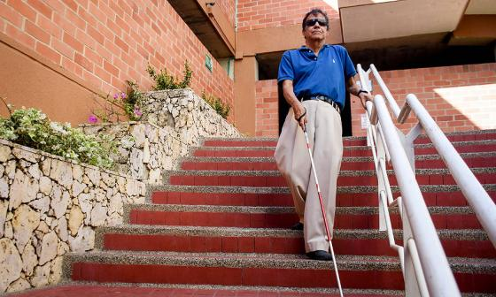 José Gabriel y la aventura que vive en las calles de Barranquilla