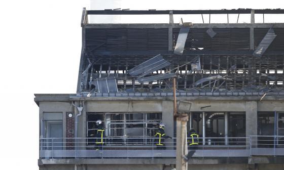 La explosión tuvo lugar en el taller de extracción de fábrica.