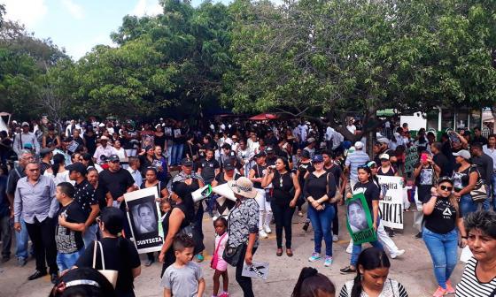 Protestas en Maicao por la libertad de Dayana Jassir