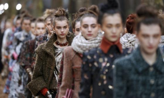 Oda al otoño de Chanel en el Grand Palais de París