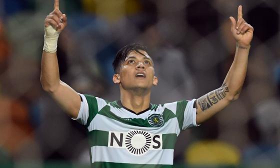 Montero logró un doblete en el triunfo del Sporting en la Europa League