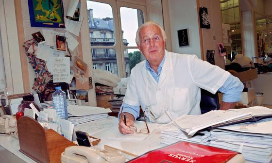 Hubert de Givenchy, fallecido.