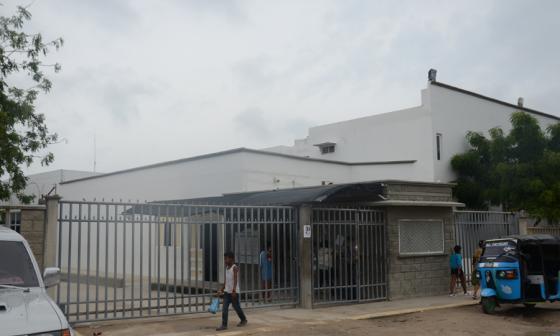 Clínica Adelita de Char en Soledad, donde recibieron atención médica las víctimas.