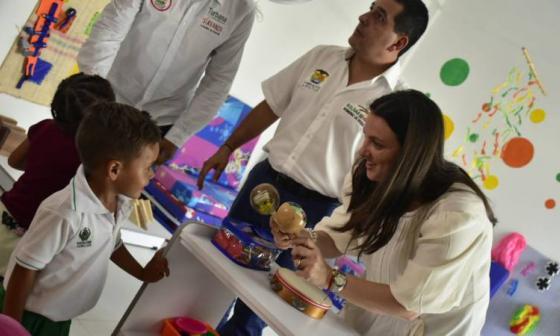 Nuevo CDI en Turbana, Bolívar, atenderá 100 niños de la primera infancia