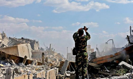 Rusia y Occidente chocan por ataque de EEUU a Siria