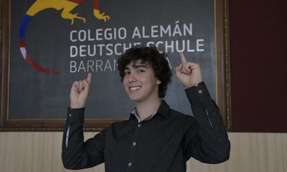 Alumno del Alemán gana concurso para estudiar un curso de verano en Alemania