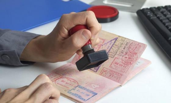 Capturan a hombre señalado de falsificar visas para EEUU, Reino Unido y Canadá