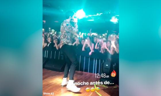 Sebastián Yatra estuvo hospitalizado tras su concierto en Barranquilla