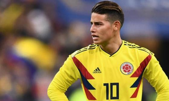 James, de inesperado goleador en Brasil 2014 a estrella en Rusia 2018