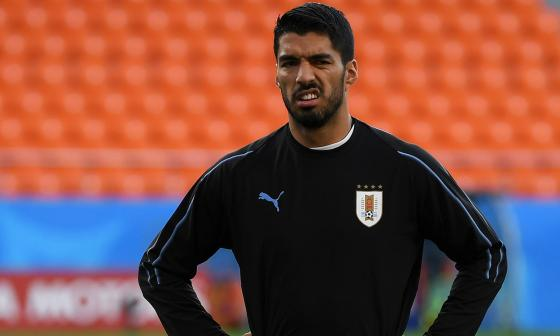 Suárez, figura uruguaya.