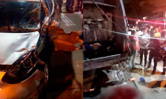 Pique fatal: joven ocasiona accidente y destroza piernas de empleado de Aseo Técnico