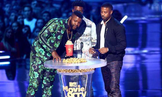 """Pantera Negra"" y ""Stranger Things"", ganadoras de los  MTV Movie and TV Awards"