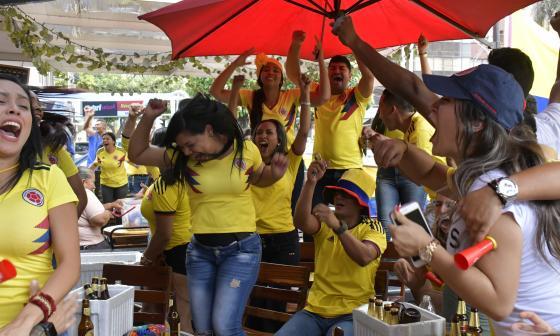La Región Caribe vibró y gozó con la victoria de la Selección Colombia