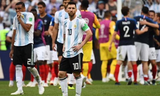 En emocionante partido, Francia elimina a Argentina en los octavos de Rusia-2018