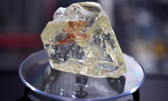 Descubren enorme depósito de diamantes bajo la superficie terrestre