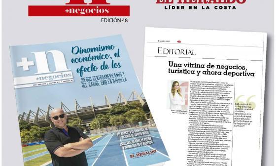 Editorial de la revista +negocios, edición 48.