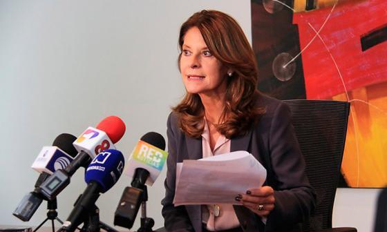 """""""El discurso del presidente fue sin anclas en prejuicios de pasado"""": Marta Lucía Ramírez"""