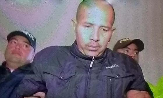 Juan Carlos Sánchez Latorre, alias 'Lobo Feroz'.