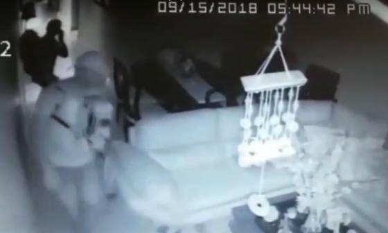 Millonario robo en vivienda de Las Delicias: se llevan equipos de televisión