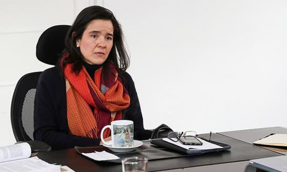Sylvia Constaín, Ministra de las Tecnologías de la Información y las Comunicaciones.