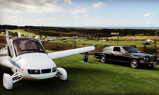 Modelo del primer auto volador, Transition.