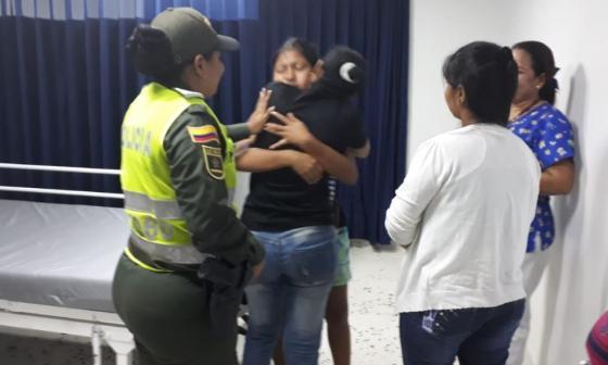 En video | Así fue el reencuentro entre estudiante hallada en Ponedera y sus familiares