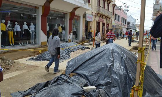 Alcalde de Sincelejo y gerente de Adesa, enfrentados por retrasos en obras del Centro