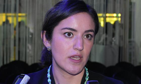 Mónica Ballesteros, vocera del Economist Intelligents Unit.