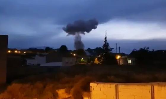 Tres muertos deja explosión de una fábrica de pirotecnia en España