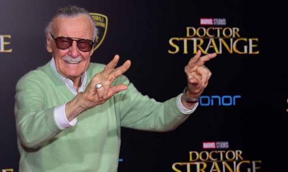 Stan Lee, leyenda del cómic.