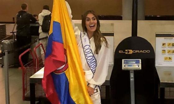 Valeria Morales, señorita Colombia 2018.