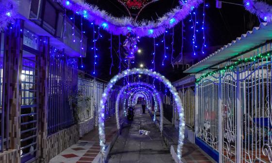 El espíritu navideño alumbró los barrios de Barranquilla