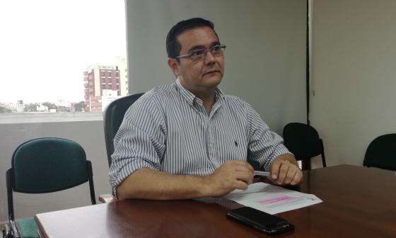 El nuevo director de la CCI Norte, Héctor Carbonell.