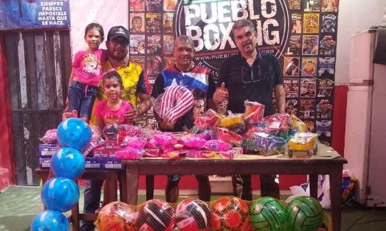 Alberto Torres (i), presidente de Fecolbox, y Julio Torres (d), gerente de esta entidad en La Magdalena.