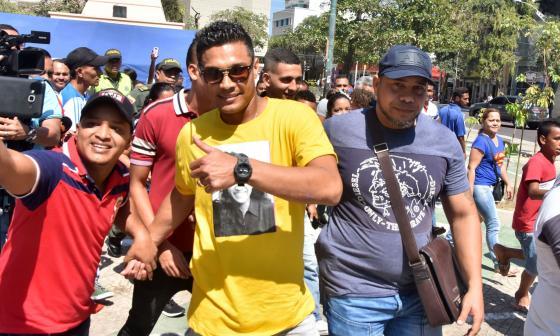 """En video   """"Mi intención es quedarme en Junior"""": Teófilo Gutiérrez"""