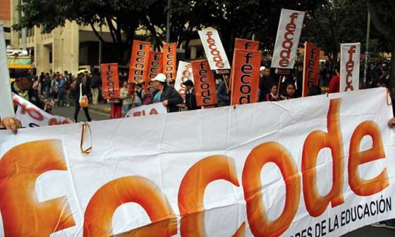 Fecode anuncia paro nacional de maestros el próximo 14 de febrero