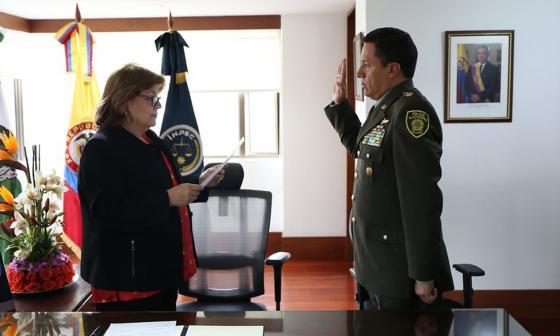 El Inpec tiene nuevo director: el general William Ruiz se posesionó en el cargo este martes