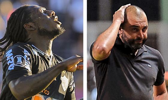 Duelo de exjunioristas en la Libertadores: Chará elimina a Méndez