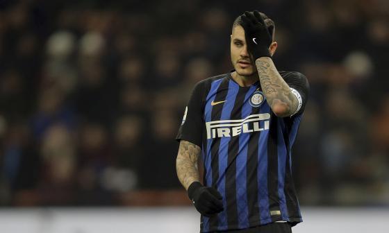 Icardi pierde el brazalete de capitán en el Inter