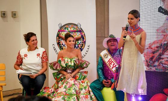 Carla Celia, Carolina Segebre, Freddy Cervantes y Giselle Lacouture.