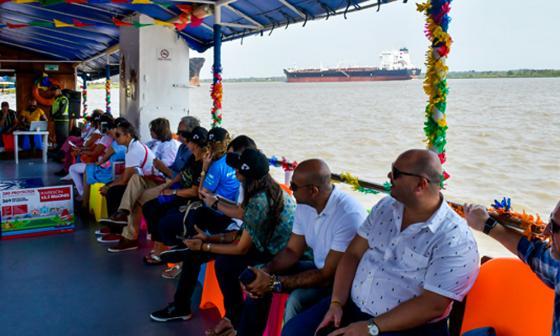 Un paseo para atraer más inversiones a Barranquilla