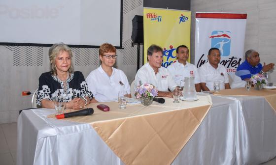 Ayer se realizó la presentación del Torneo en Cajacopi.