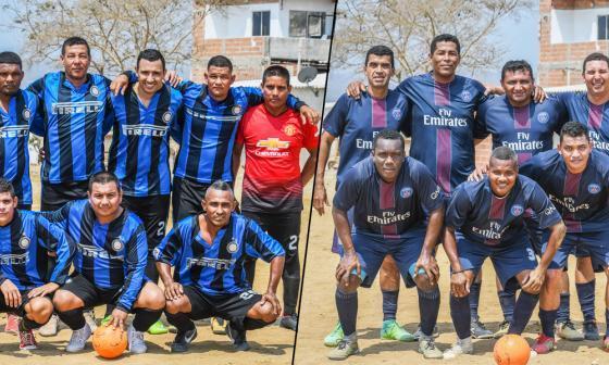 ¡A jugar se dijo!  | Amigos, líder del torneo de fútbol del barrio Villa del Rosario