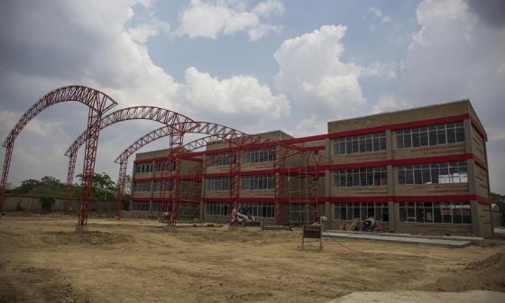 Los colegios en el municipio de Sabanalarga son de tres pisos.