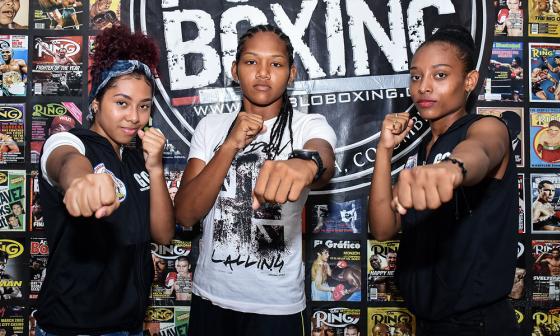 Mujeres, protagonistas en torneo de boxeo en La Magdalena